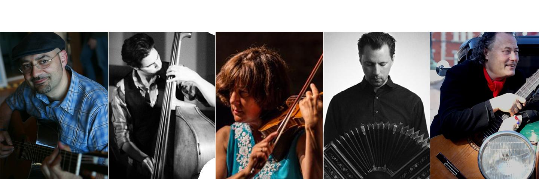Tangokvintett La Cachila spelar i Rimbo 23/9